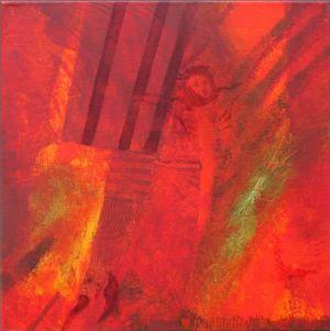 Reflets Poétiques No 5, Acrilic sur toile, 40 x 40 cm