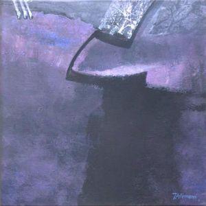 Reflets Poétiques No 7, Acrilic sur toile, 40 x 40 cm