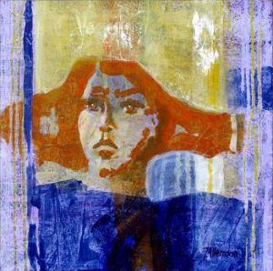 Reflets Poétiques No 10, Acrilic sur toile, 40 x 40 cm
