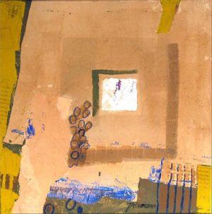 Reflets Poétiques No 17, Acrilic sur toile, 40 x 40 cm