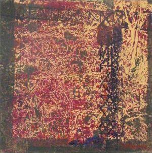 Grutopia 8, Acryl sur papier marouflé sur toile, 40 x 40 cm