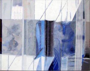 Paris - La Villette 1, Huile sur toile, 100 x 80 cm