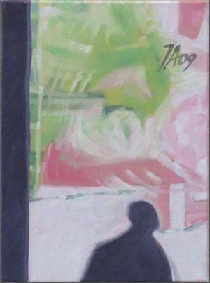 Paris - La Villette 5, Huile sur toile, 24 x 33 cm